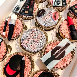Makeup Cupcakes.