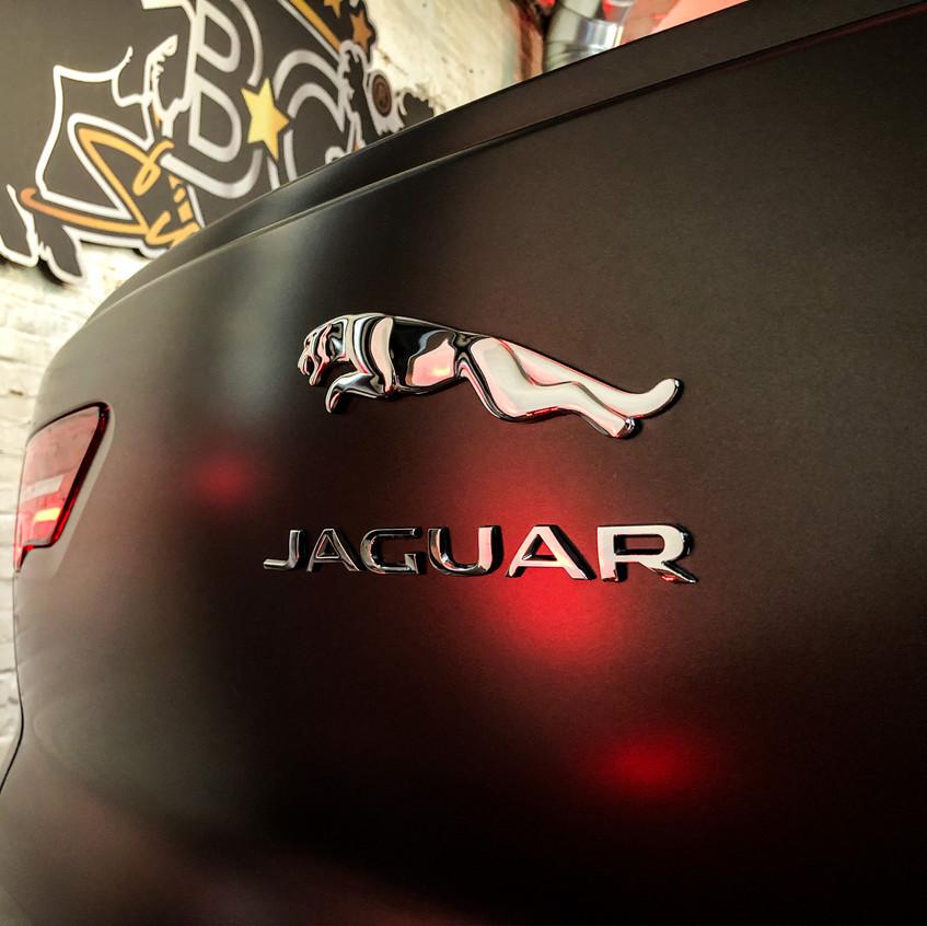 Jaguar I-Pace Carwrap Satin bassalt