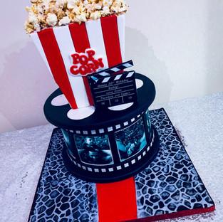 Movie Cake.