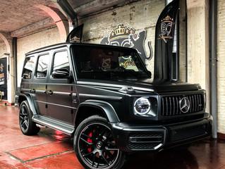Mercedes G-wagon AMG - XPEL Stealth wrap