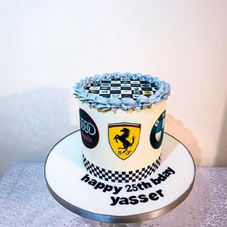 Car Logo Cake.