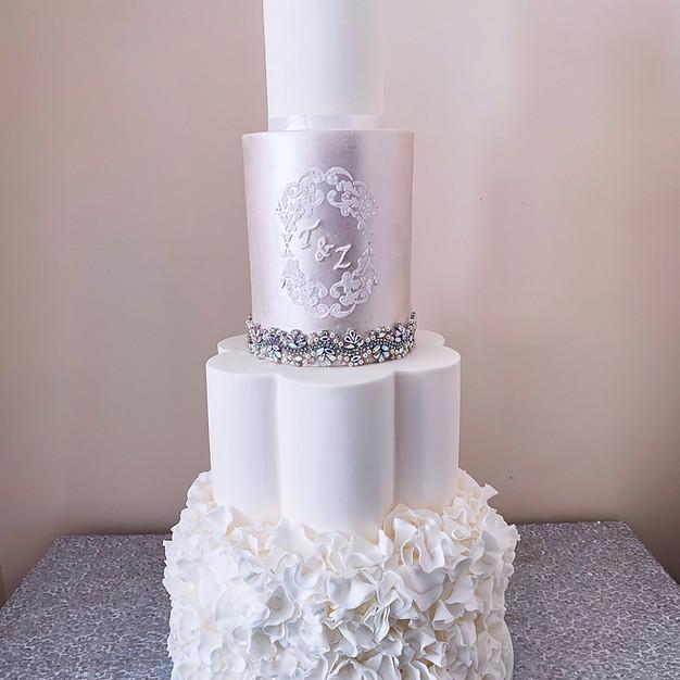 Petal Wedding Cake.