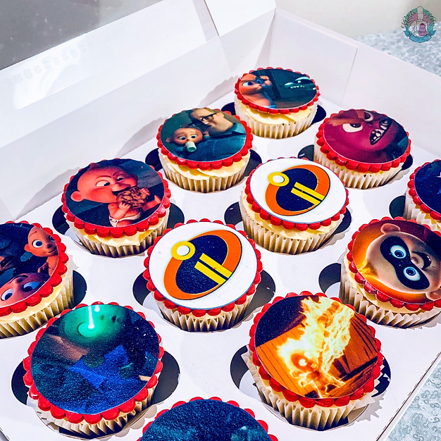 Incredibles Cupcakes