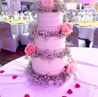 Layered Wedding Cake.