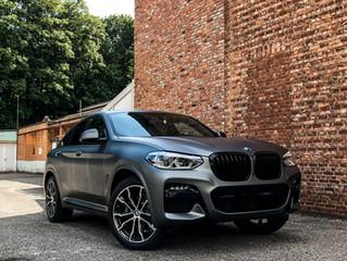 BMW X4  - Matte Metallic Gunmetal carwrap