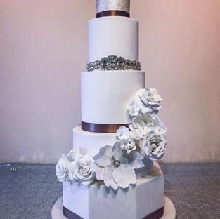 Sparkle Wedding Cake.