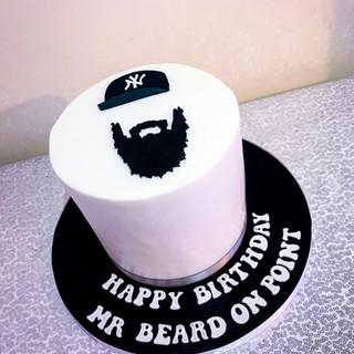 Beard Cake.