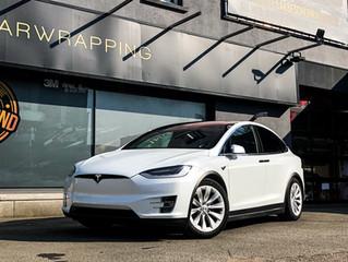 Tesla Model X Xpel Ultimate Plus
