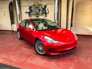 Tesla Model 3 - Full Xpel PPF Lakbescherming wrap.
