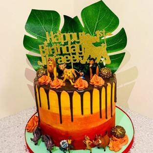 Lion King Cake.