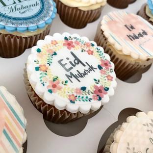 Eid Mubarak Cupcakes.