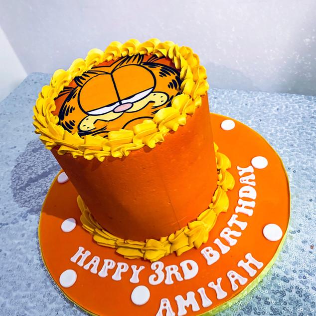 Garfield Photo Cake.