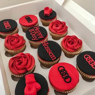 Audi Cupcakes.