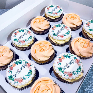 Mr and Mrs Cupcakes.