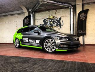 VW Passat Team Zorg - Passat R-Line Car Wrap