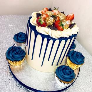 Buttercream Drip Cake.
