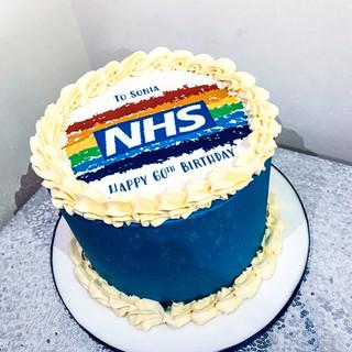 NHS cake.