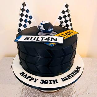 Tyre Cake.