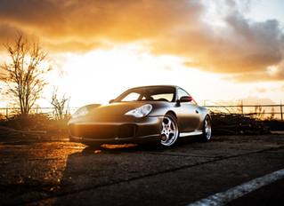 Porsche 996 wrap - Avery Satin SILKY CHARCOAL