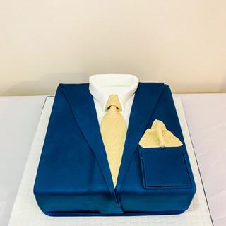 Shirt and Tie Cake.