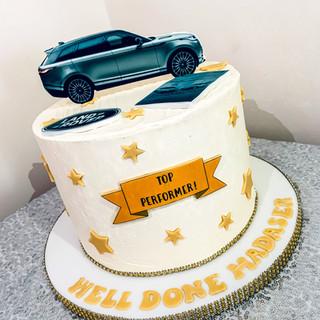 Landrover Cake.
