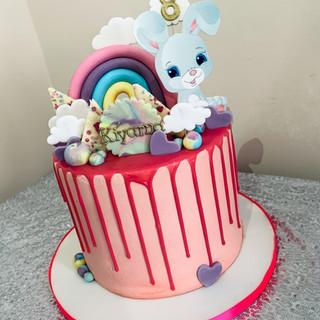 Bunny Drip Cake.