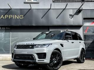 2020 Range Rover Sport in Nardo Grey Wrap