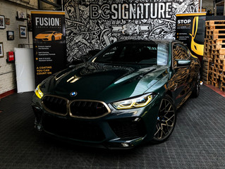 BMW M8 first edition - Full XPEL Ultimate Plus lakbescherming