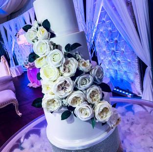 White Wedding Cake.