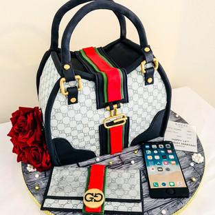 Gucci Handbag Cake.