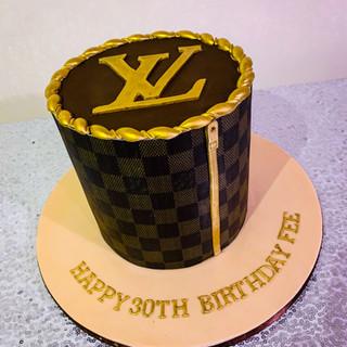 Louis Vuitton Cake.