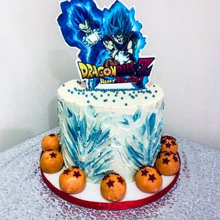 Dragon Ball Z Cake.