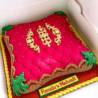 Pink Pillow Cake.