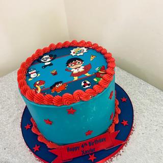 Ryans World Cake.