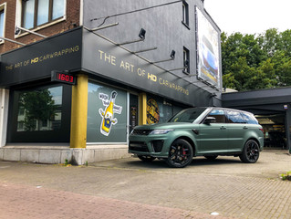 RANGE ROVER Sport - Pine Green Metallic carwrap