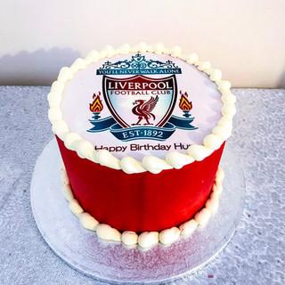 Liverpool Logo Cake.