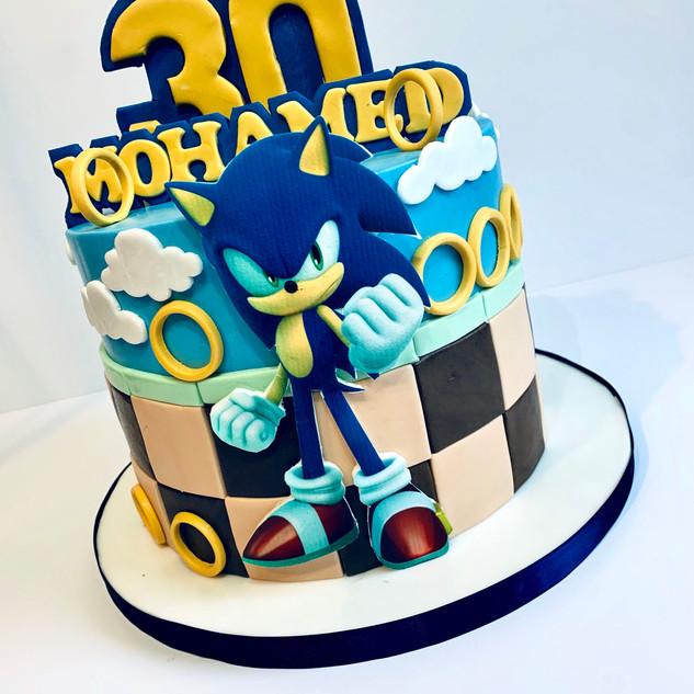 Sonic Cake.