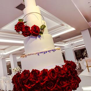 Ring Wedding Cake.