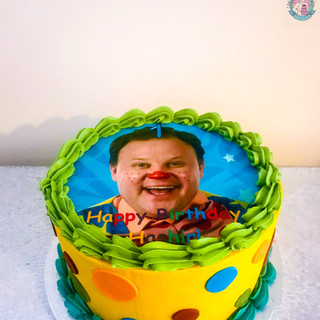 Mr Tumble Cake.