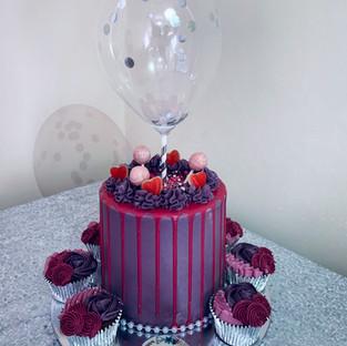 Sweetie Drip Cake.