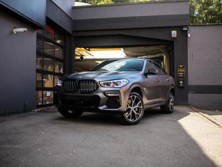 BMW X6 - Satin dark grey carwrap