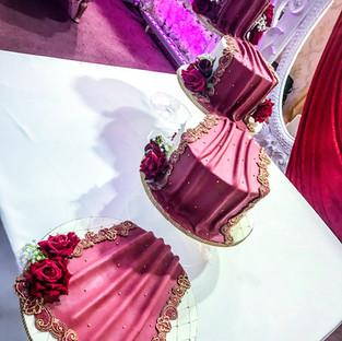 Dupatta Wedding Cake.