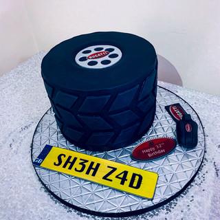 Bugatti Cake.