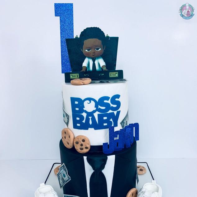 Boss Baby Cake.