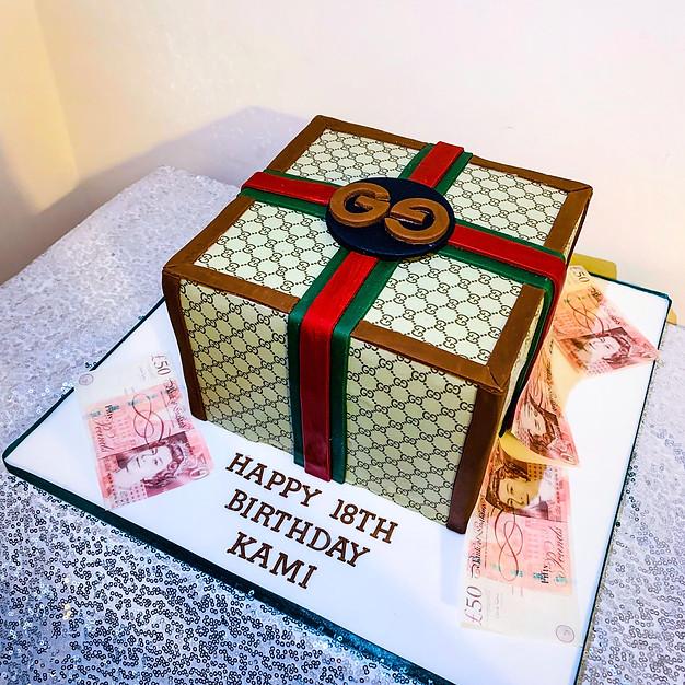 Gucci Birthday cake.