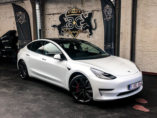 Tesla Model 3 XPEL PPF + black pack