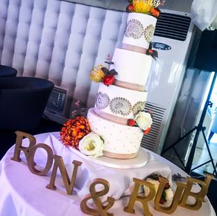 Paisley & Hession Wedding Cake.