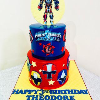 Power Ranger Cake.