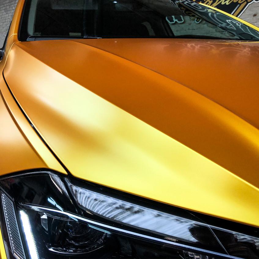 VW Polo -  Carwrap Energetic Yellow