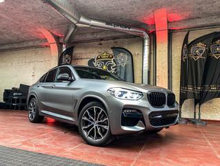 BMW X4 Matte metallic gunmetal